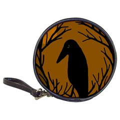 Halloween raven - brown Classic 20-CD Wallets