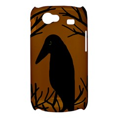 Halloween raven - brown Samsung Galaxy Nexus S i9020 Hardshell Case