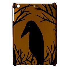 Halloween raven - brown Apple iPad Mini Hardshell Case