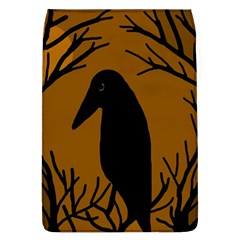 Halloween raven - brown Flap Covers (L)