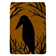 Halloween raven - brown Flap Covers (S)