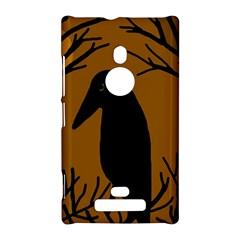Halloween raven - brown Nokia Lumia 925
