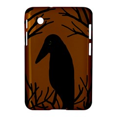 Halloween raven - brown Samsung Galaxy Tab 2 (7 ) P3100 Hardshell Case