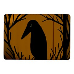 Halloween raven - brown Samsung Galaxy Tab Pro 10.1  Flip Case