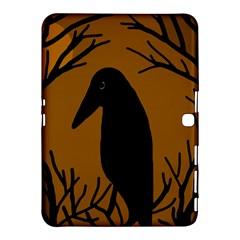 Halloween raven - brown Samsung Galaxy Tab 4 (10.1 ) Hardshell Case