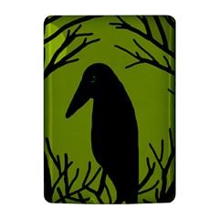 Halloween raven - green Kindle 4