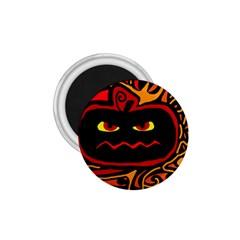 Halloween decorative pumpkin 1.75  Magnets