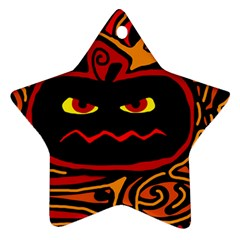 Halloween decorative pumpkin Ornament (Star)