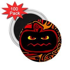 Halloween decorative pumpkin 2.25  Magnets (100 pack)