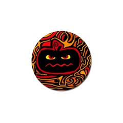 Halloween decorative pumpkin Golf Ball Marker