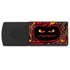 Halloween decorative pumpkin USB Flash Drive Rectangular (2 GB)