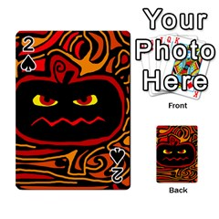 Halloween decorative pumpkin Playing Cards 54 Designs