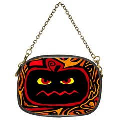 Halloween decorative pumpkin Chain Purses (One Side)