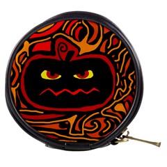 Halloween decorative pumpkin Mini Makeup Bags