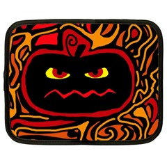 Halloween decorative pumpkin Netbook Case (XXL)