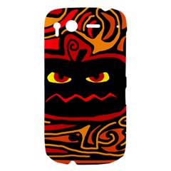 Halloween decorative pumpkin HTC Desire S Hardshell Case