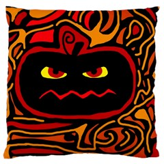 Halloween decorative pumpkin Large Cushion Case (Two Sides)