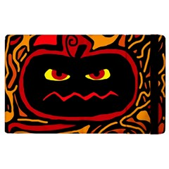 Halloween decorative pumpkin Apple iPad 2 Flip Case