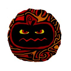 Halloween decorative pumpkin Standard 15  Premium Round Cushions