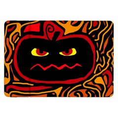 Halloween decorative pumpkin Samsung Galaxy Tab 8.9  P7300 Flip Case