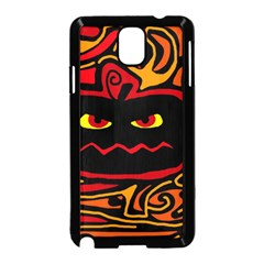 Halloween decorative pumpkin Samsung Galaxy Note 3 Neo Hardshell Case (Black)