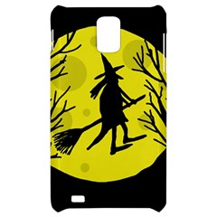 Halloween witch - yellow moon Samsung Infuse 4G Hardshell Case