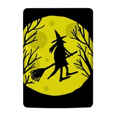 Halloween witch - yellow moon Kindle 4