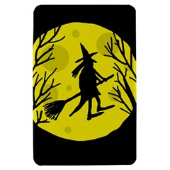 Halloween witch - yellow moon Kindle Fire (1st Gen) Hardshell Case