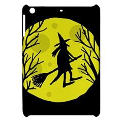 Halloween witch - yellow moon Apple iPad Mini Hardshell Case