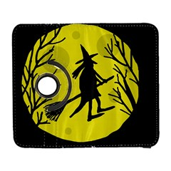 Halloween witch - yellow moon Samsung Galaxy S  III Flip 360 Case