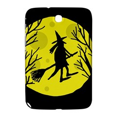 Halloween witch - yellow moon Samsung Galaxy Note 8.0 N5100 Hardshell Case