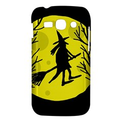 Halloween witch - yellow moon Samsung Galaxy Ace 3 S7272 Hardshell Case
