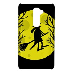 Halloween witch - yellow moon LG G2