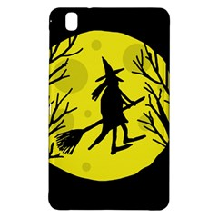 Halloween witch - yellow moon Samsung Galaxy Tab Pro 8.4 Hardshell Case