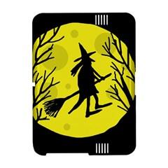 Halloween witch - yellow moon Amazon Kindle Fire (2012) Hardshell Case