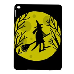 Halloween witch - yellow moon iPad Air 2 Hardshell Cases