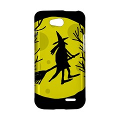 Halloween witch - yellow moon LG L90 D410