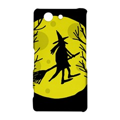 Halloween witch - yellow moon Sony Xperia Z3 Compact