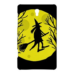 Halloween witch - yellow moon Samsung Galaxy Tab S (8.4 ) Hardshell Case