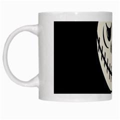 Halloween monster White Mugs