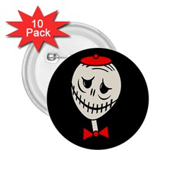 Halloween monster 2.25  Buttons (10 pack)
