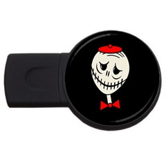 Halloween monster USB Flash Drive Round (2 GB)