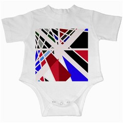 Decorative flag design Infant Creepers