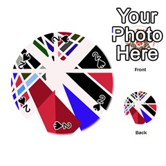 Decorative flag design Playing Cards 54 (Round)