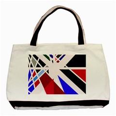 Decorative flag design Basic Tote Bag (Two Sides)