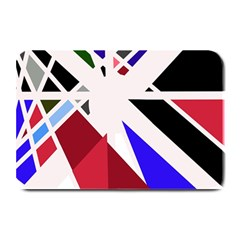 Decorative flag design Plate Mats