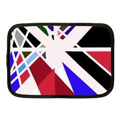 Decorative flag design Netbook Case (Medium)