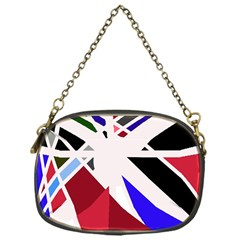Decorative flag design Chain Purses (One Side)