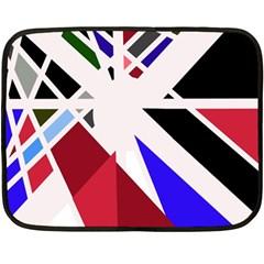 Decorative flag design Double Sided Fleece Blanket (Mini)