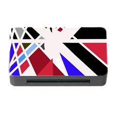 Decorative flag design Memory Card Reader with CF